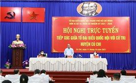 Chủ tịch nước Nguyễn Xuân Phúc: Củ Chi cố gắng giữ vững