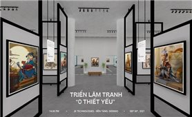 Triển lãm thực tế ảo thu hút người trẻ yêu văn hóa Việt