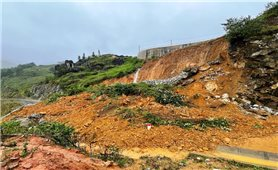 Lào Cai: Mưa lớn làm sạt lở, chia cắt nhiều tuyến đường, gây thiệt hại trên 3 tỷ đồng