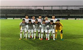 Đội tuyển U23 Việt Nam hoà trận giao hữu với U23 Tajikistan