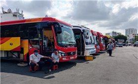 Các tuyến vận tải khách liên tỉnh hoạt động trở lại từ ngày 13/10/2021