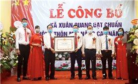 Xã thứ hai của huyện Bảo Thắng đạt Nông thôn mới nâng cao