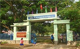 Bình Thuận: Học sinh vùng cao tuân thủ 5K để đến trường