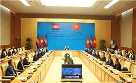 Kim ngạch thương mại Việt Nam-Campuchia tăng mạnh trong bối cảnh đại dịch COVID-19