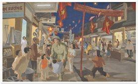 Ký ức sống động về Hà Nội qua triển lãm tranh trực tuyến