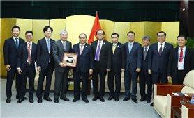 Thủ tướng Nguyễn Xuân Phúc tiếp lãnh đạo các tập đoàn lớn dự APEC