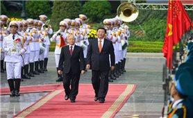 Tổng Bí thư, Chủ tịch nước Trung Quốc bắt đầu chuyến thăm cấp Nhà nước tới Việt Nam
