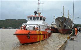 Nỗ lực tìm kiếm nạn nhân vụ chìm tàu ở vùng biển Quy Nhơn