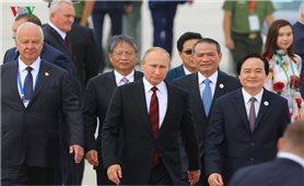 Tổng thống Nga Putin đến Đà Nẵng