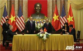 Toàn văn Tuyên bố chung giữa Hoa Kỳ và Việt Nam