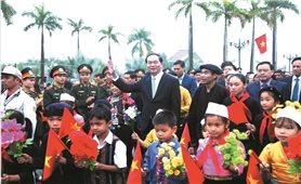 Đại đoàn kết là truyền thống quý báu của dân tộc Việt Nam