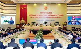 Hội nghị trực tuyến Chính phủ với các địa phương, triển khai nhiệm vụ 2018