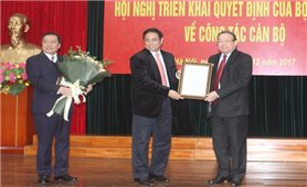 Đồng chí Thào Xuân Sùng giữ chức Chủ tịch Hội Nông dân Việt Nam