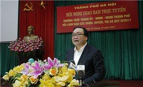Bí thư Hà Nội yêu cầu truy trách nhiệm việc lát đá tự nhiên cho vỉa hè