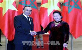 Chủ tịch Quốc hội hội đàm với Chủ tịch Hạ viện Vương quốc Morocco