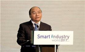 Thủ tướng phát biểu tại Hội thảo - Triển lãm quốc tế về Phát triển công nghiệp thông minh