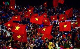 """Toàn cảnh """"bầu trời sao"""" chào đón các chiến binh U23 Việt Nam"""