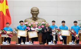 Bộ trưởng, Chủ nhiệm Đỗ Văn Chiến cùng tham dự buổi gặp mặt của Thủ tướng Nguyễn Xuân Phúc với các thành viên U23 Việt Nam
