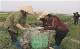 Phụ nữ Ba Vì với hoạt động bảo vệ môi trường