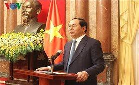 Chủ tịch nước Trần Đại Quang trả lời phỏng vấn báo Yomiuri (Nhật Bản)