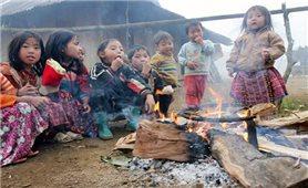 Giữ ấm cho học sinh vùng cao
