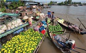 Miền Tây: Nhộn nhịp chợ trên sông