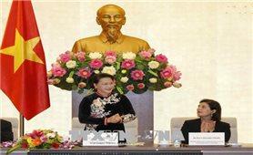 Chủ tịch Quốc hội tiếp Đoàn Mạng lưới Nghị viện của WB và IMF