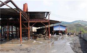 Lào Cai: Đình chỉ hoạt động nhà máy luyện kim màu Bản Lầu