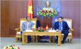 Đoàn Bộ trưởng Bộ các Vấn đề biên giới Myanmar thăm và làm việc tại Khánh Hòa
