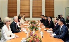 Thủ tướng Việt Nam, Australia nói về việc thiết lập Đối tác chiến lược
