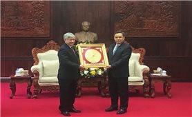 Bộ trưởng, Chủ nhiệm Uỷ ban Dân tộc Đỗ Văn Chiến thăm và làm việc tại Cộng hòa Dân chủ Nhân dân Lào