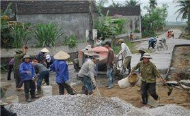 Xây dựng nông thôn mới ở Tân Kỳ (Nghệ An): Người có uy tín luôn thể hiện vai trò đầu tàu