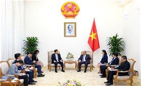Thủ tướng Nguyễn Xuân Phúc tiếp Đại sứ Hàn Quốc