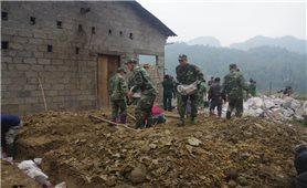 Đồn Biên phòng Cửa khẩu Trà Lĩnh: Nhiều việc làm thiết thực vì người nghèo
