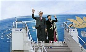 Chủ tịch nước bắt đầu chuyến thăm cấp Nhà nước tới Nhật Bản