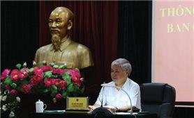 Bộ trưởng, Chủ nhiệm Đỗ Văn Chiến thông báo nhanh kết quả Hội nghị BCH Trung ương Đảng lần thứ 7, khóa XII