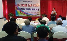 Tập huấn bảo vệ môi trường cho đồng bào DTTS tỉnh Phú Yên