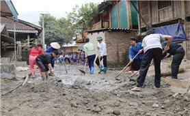 Đề án 1 triệu tấn xi măng ở Hà Giang: Góp phần hoàn thành tiêu chí giao thông nông thôn