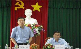 Ủy ban Dân tộc: Nắm bắt tình hình thực hiện Chiến lược Công tác dân tộc tại Bình Định