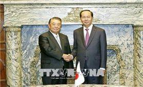 Chủ tịch nước hội kiến Chủ tịch Hạ viện Nhật Bản