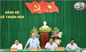 Ủy ban Dân tộc và NHCSXH khảo sát tín dụng chính sách tại Trà Vinh