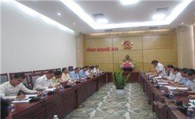 Đoàn công tác Uỷ ban Trung ương mặt trận Lào xây dựng đất nước thăm và làm việc tại Nghệ An