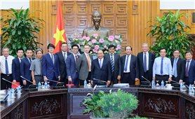 Thủ tướng tiếp các nhà đầu tư vào Bạc Liêu