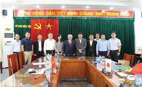 Bộ trưởng, Chủ nhiệm Ủy ban Dân tộc tiếp xã giao chuyên gia cơ quan Hợp tác Quốc tế Nhật Bản