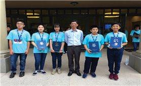 Việt Nam đoạt 5 huy chương tại Cuộc thi Toán học WMO 2018