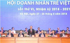 Phó Thủ tướng Trương Hòa Bình dự Đại hội Hội Doanh nhân trẻ Việt Nam