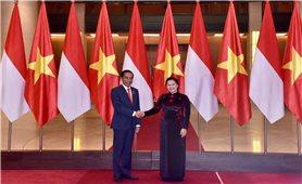 Lãnh đạo Đảng, Quốc hội tiếp Tổng thống Cộng hòa Indonesia