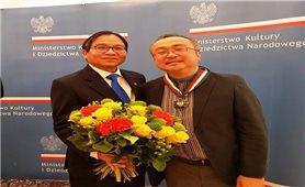 Ba Lan trao tặng Nghệ sĩ nhân dân Đặng Thái Sơn giải thưởng cao quý nhất về văn hóa