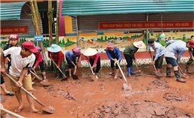 Điện Biên: Khắc phục hậu quả mưa lũ, ổn định cuộc sống người dân