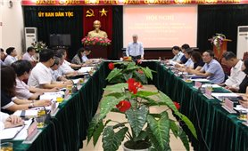 Ủy ban Dân tộc: Giao ban công tác tháng 8 và triển khai nhiệm vụ trọng tâm tháng 9